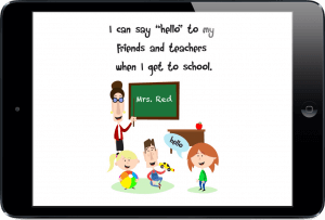 Teaching Greetings To Kids Social Story